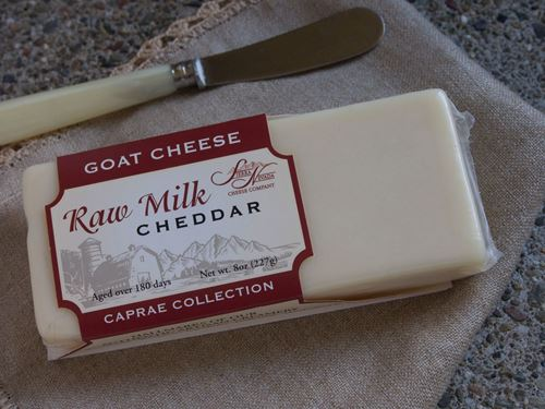 Picture of Sierra Nevada Raw Goat Cheddar