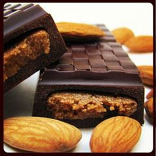 Picture of Coracao Chocolate Almond Butter Truffle Bar