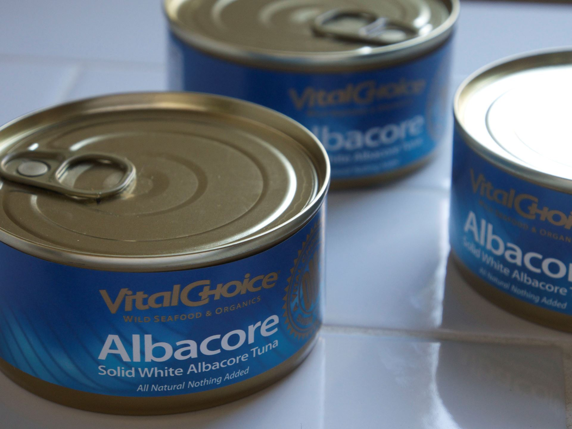 Picture of Vital Choice Albacore Tuna 6 oz.