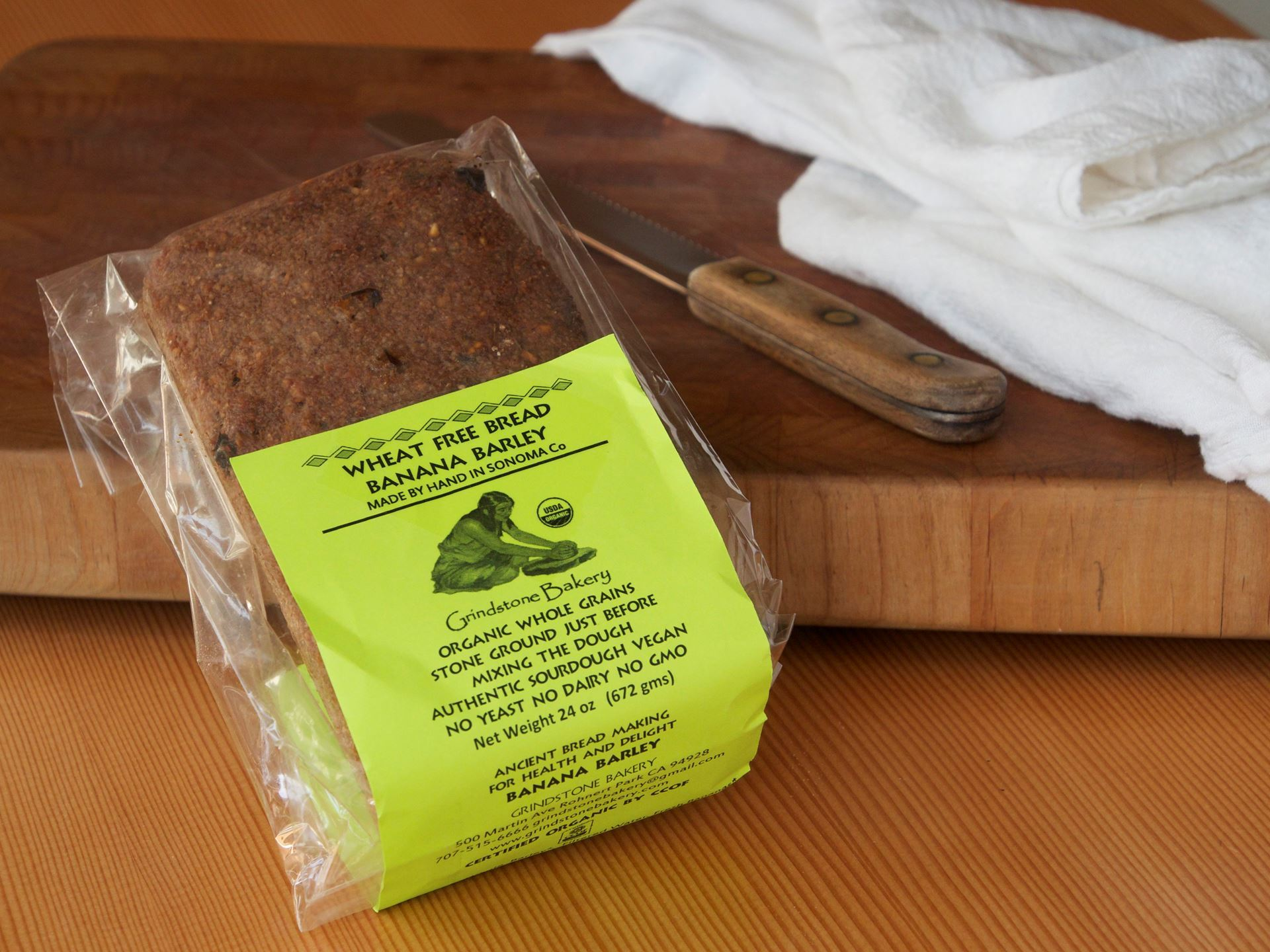 Picture of Grindstone Banana Barley Bread