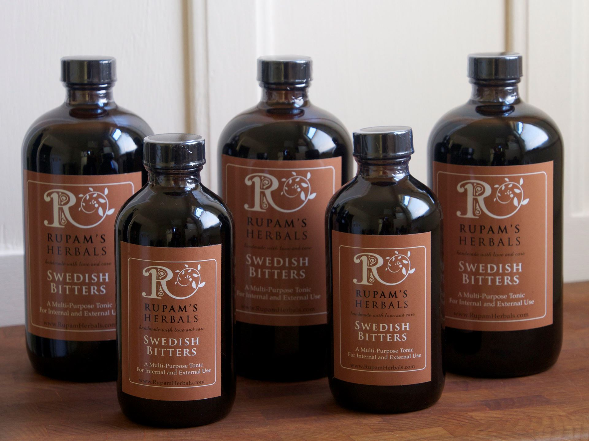 Picture of Rupam's Herbals Swedish Bitters 8 oz.