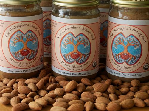 Picture of Sprouted Almond Butter (Large Creamy) The Philosopher's Stoneground