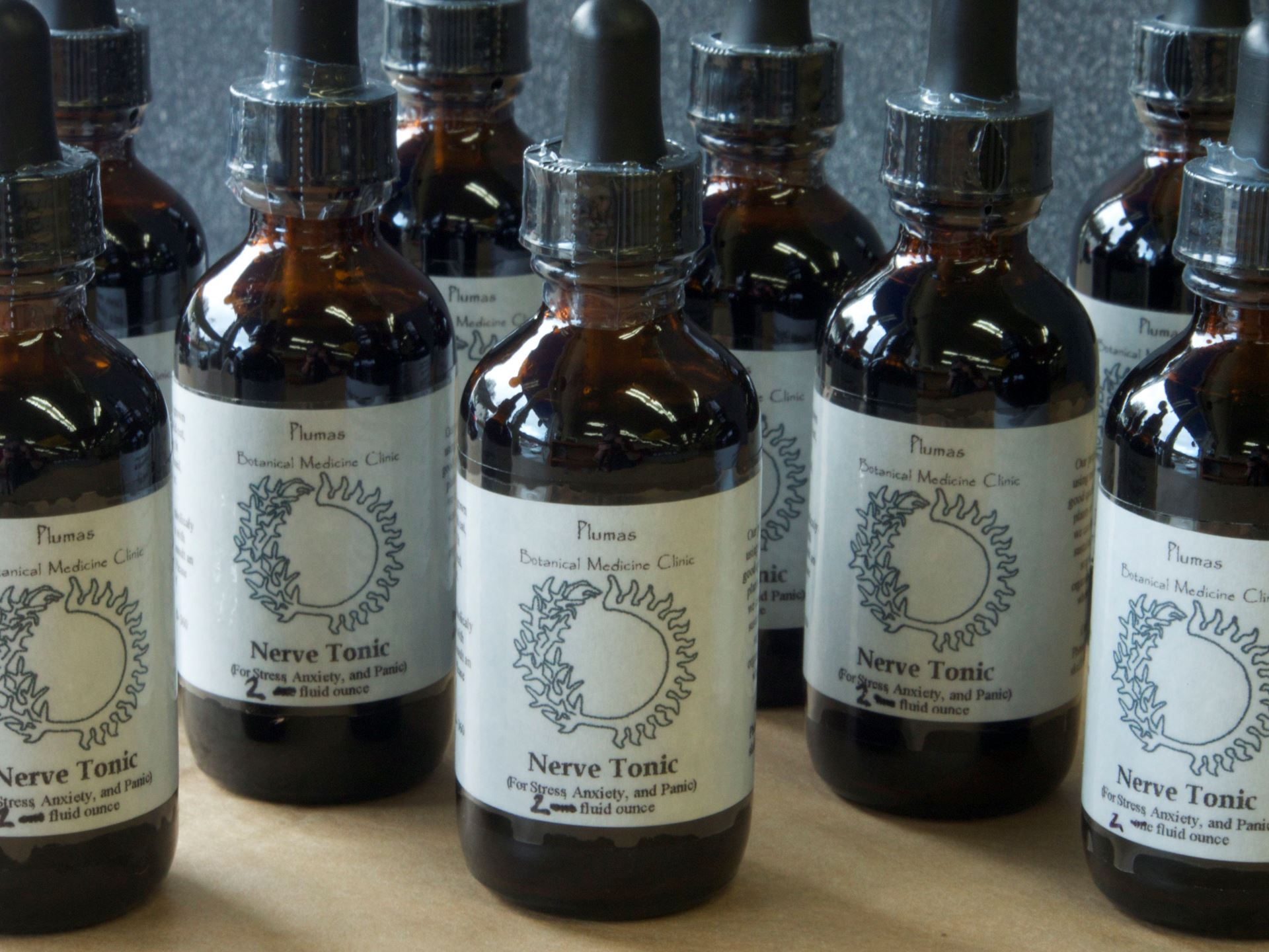 Picture of SFBMC Nerve Tonic 2 oz. (stress tamer)