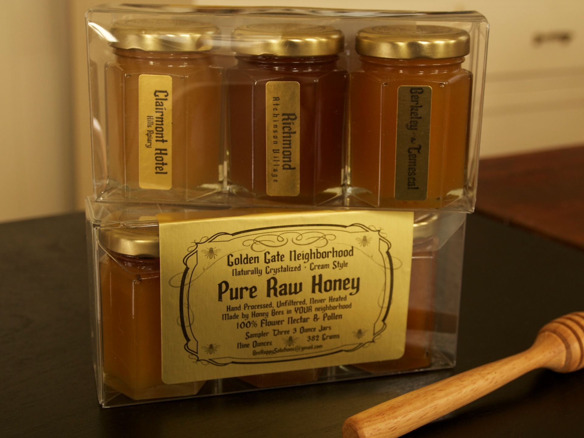 Picture of Raw Honey Trio- Golden Gate Neighborhood