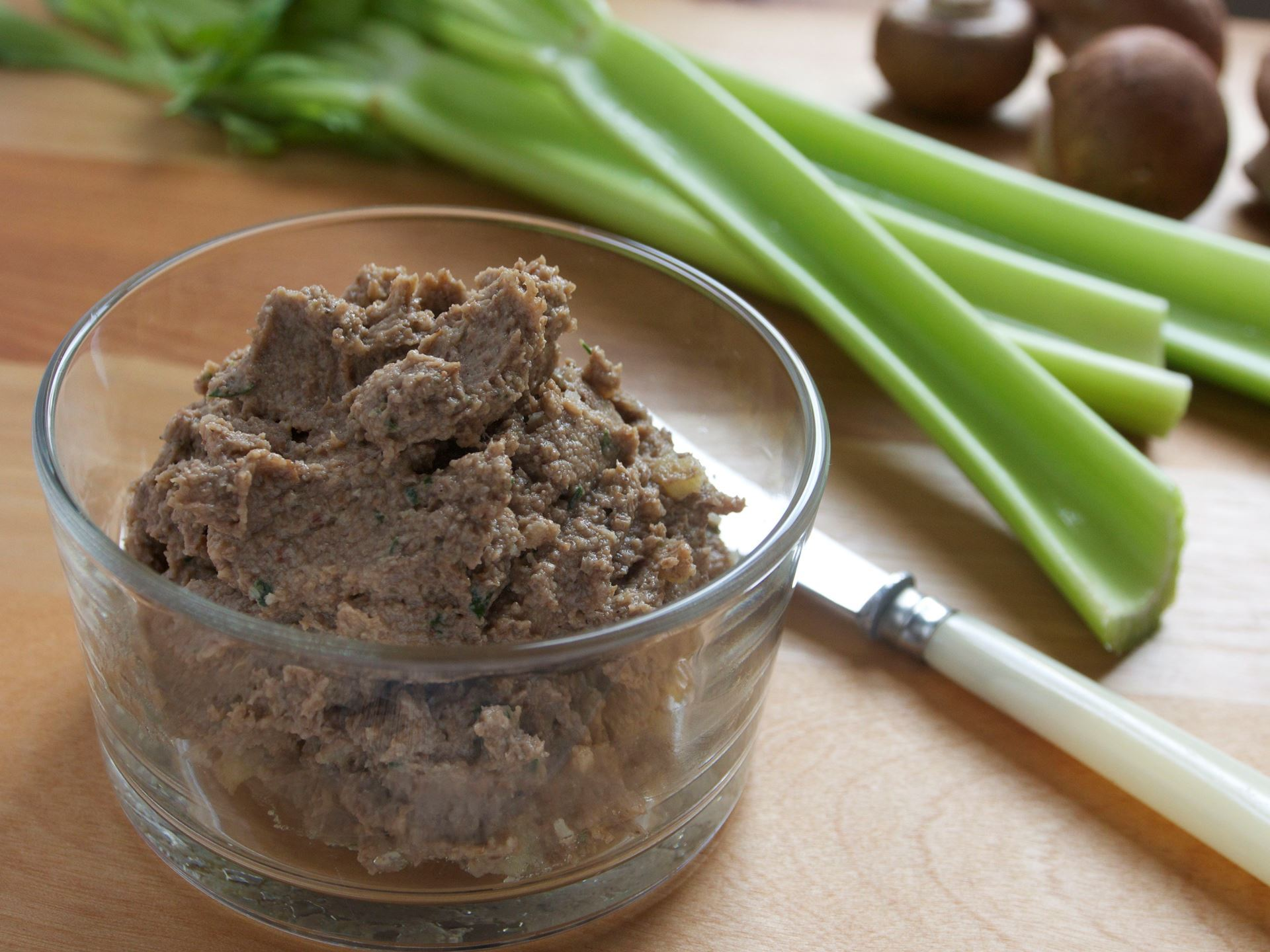 Picture of Mushroom & Walnut Pâté (Vegetarian)