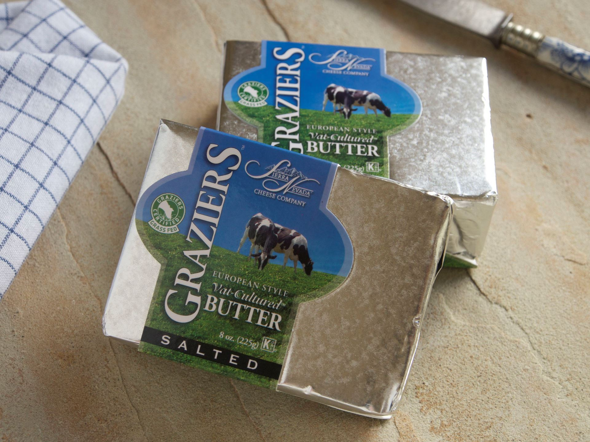 Picture of Graziers Vat Cultured Butter - Salted
