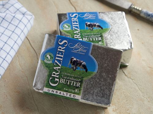Picture of Graziers Vat Cultured Butter - Unsalted