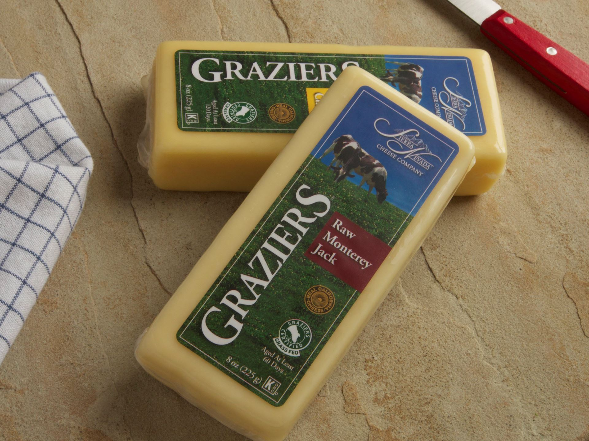 Picture of Graziers Raw COW Milk Monterey Jack