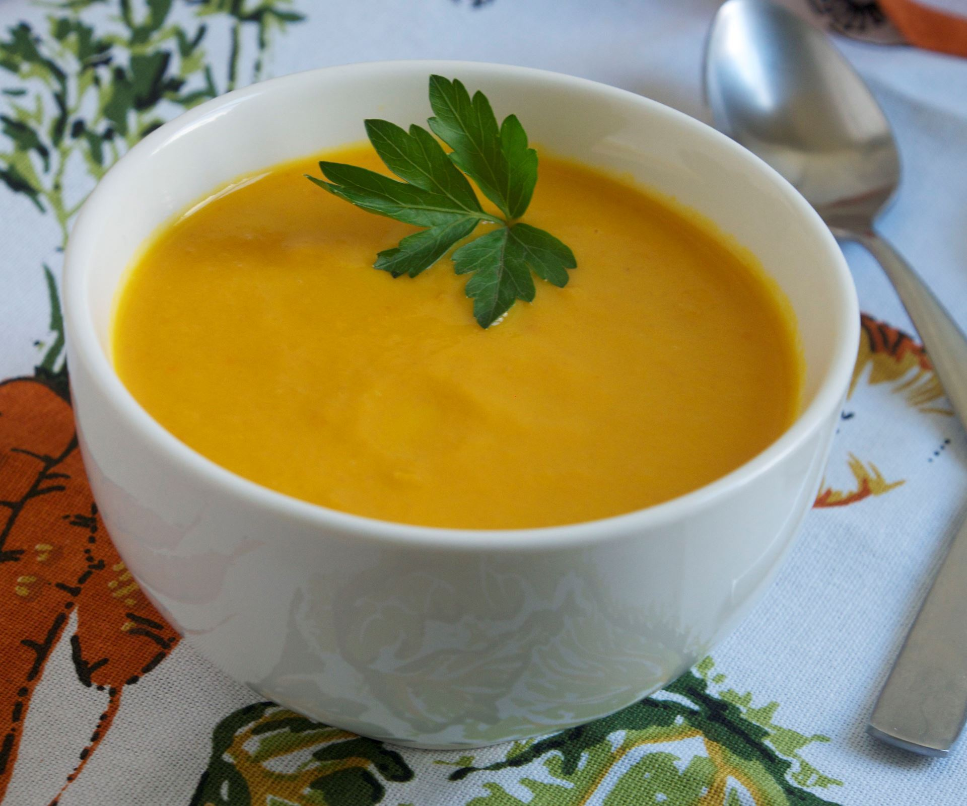 Picture of Frozen -- Creamy Carrot-Ginger Soup (Vegan)