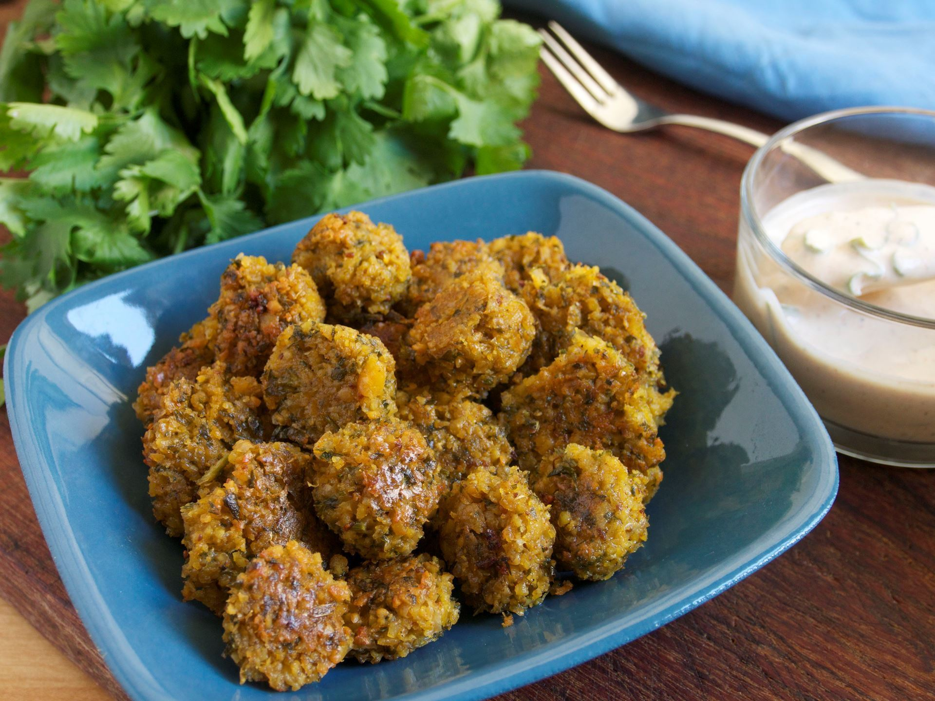 Picture of Frozen -- Falafel Dough with Activated Chickpeas (Vegan)