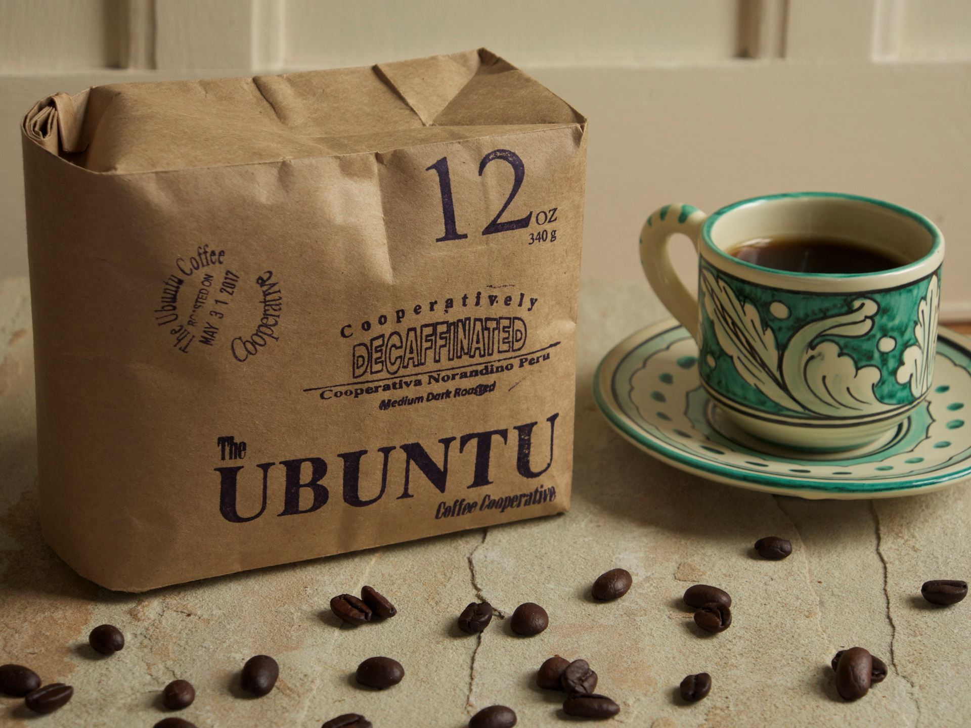 Picture of Ubuntu Coffee Decaffeinated Mexican Beans
