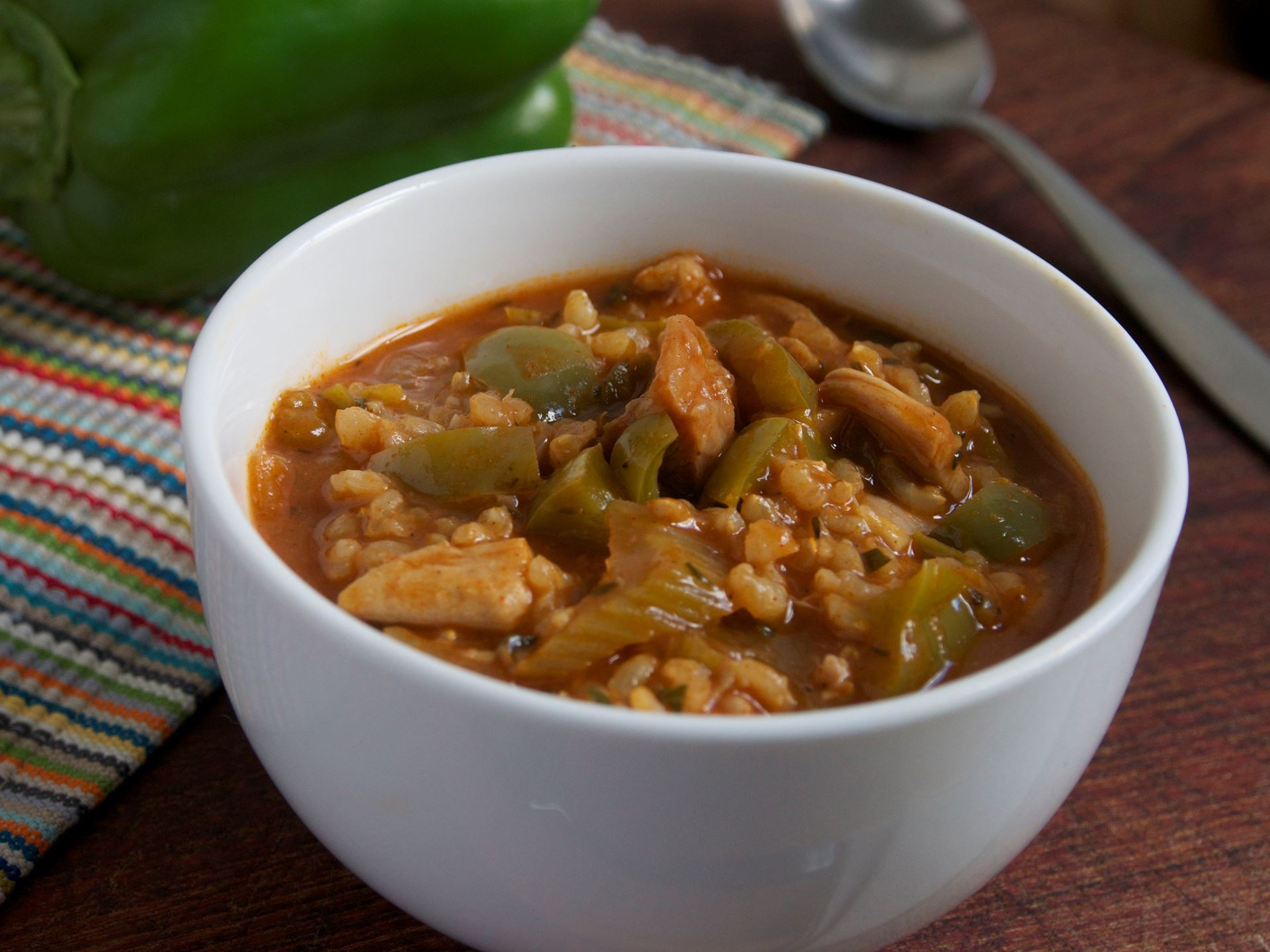 Picture of Frozen -- Chicken and Rice Jambalaya 22 oz.