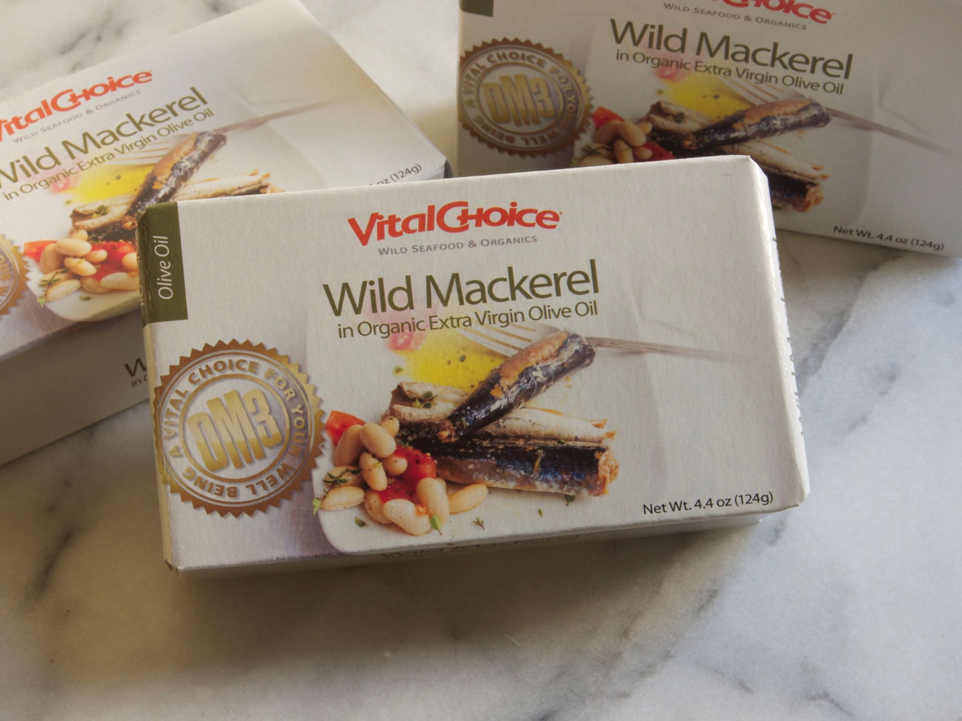 Picture of Vital Choice Mackerel in Olive Oil