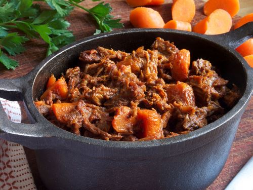 Picture of Frozen -- Ethiopian Beef Stew with Aromatic Spices and Carrots