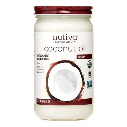 Picture of Nutiva Virgin Coconut Oil 23 oz