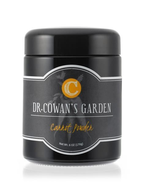 Picture of Dr. Cowan's Garden Carrot Powder Miron Jar