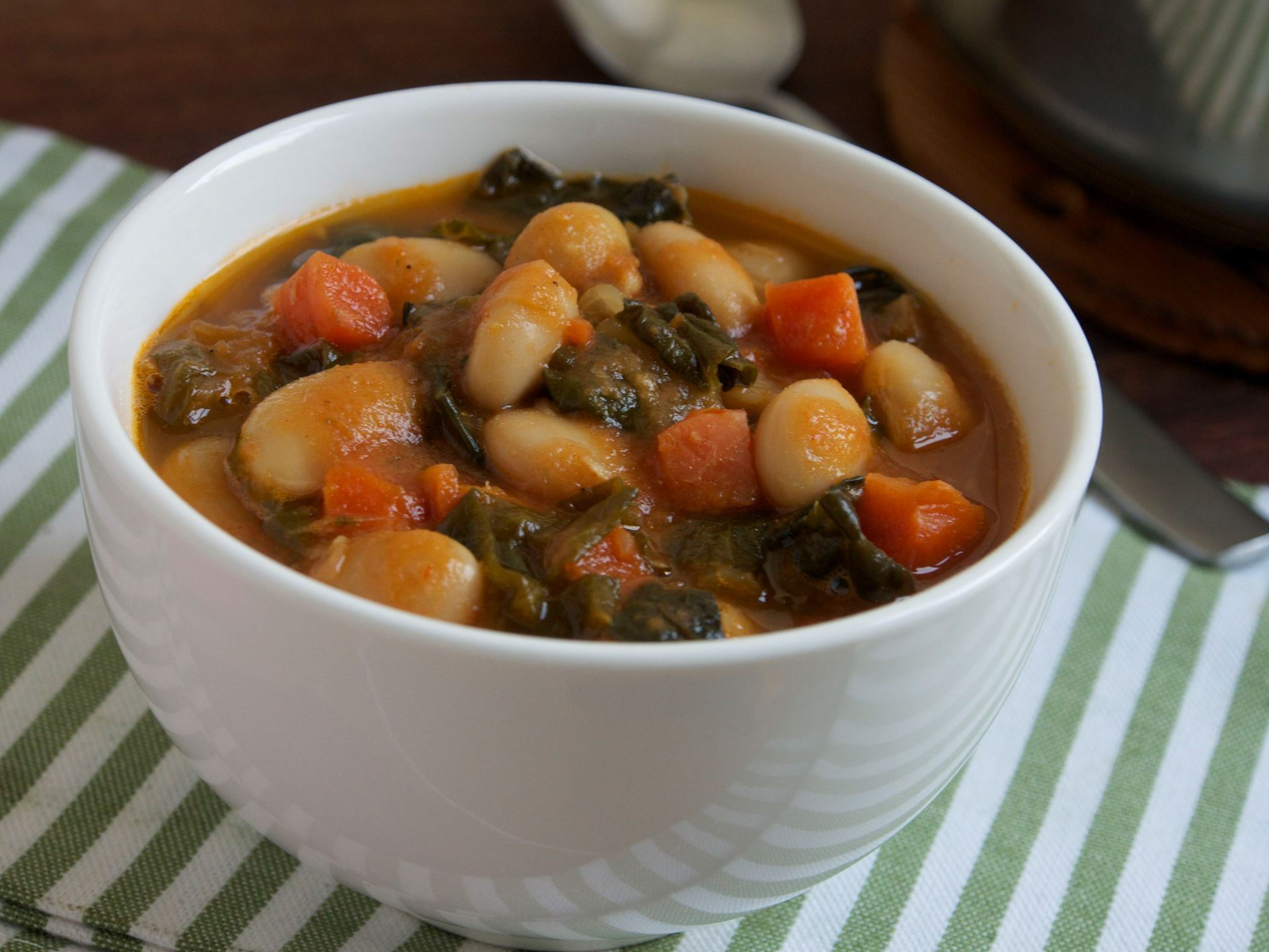 Picture of Frozen -- Tuscan White Bean Soup with Seasonal Greens