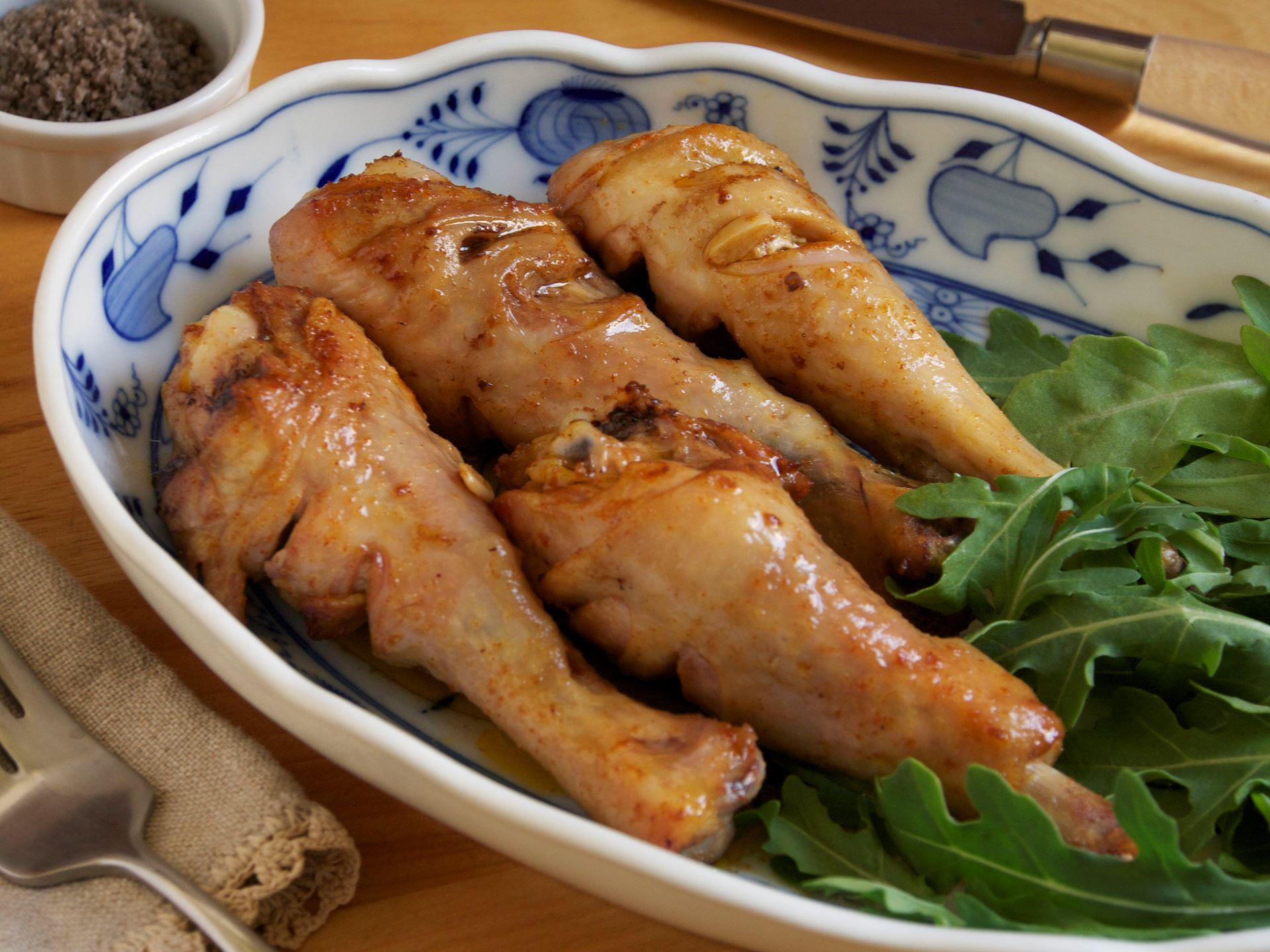 Picture of Spanish Marinated Chicken Drumsticks-- Frozen & RAW