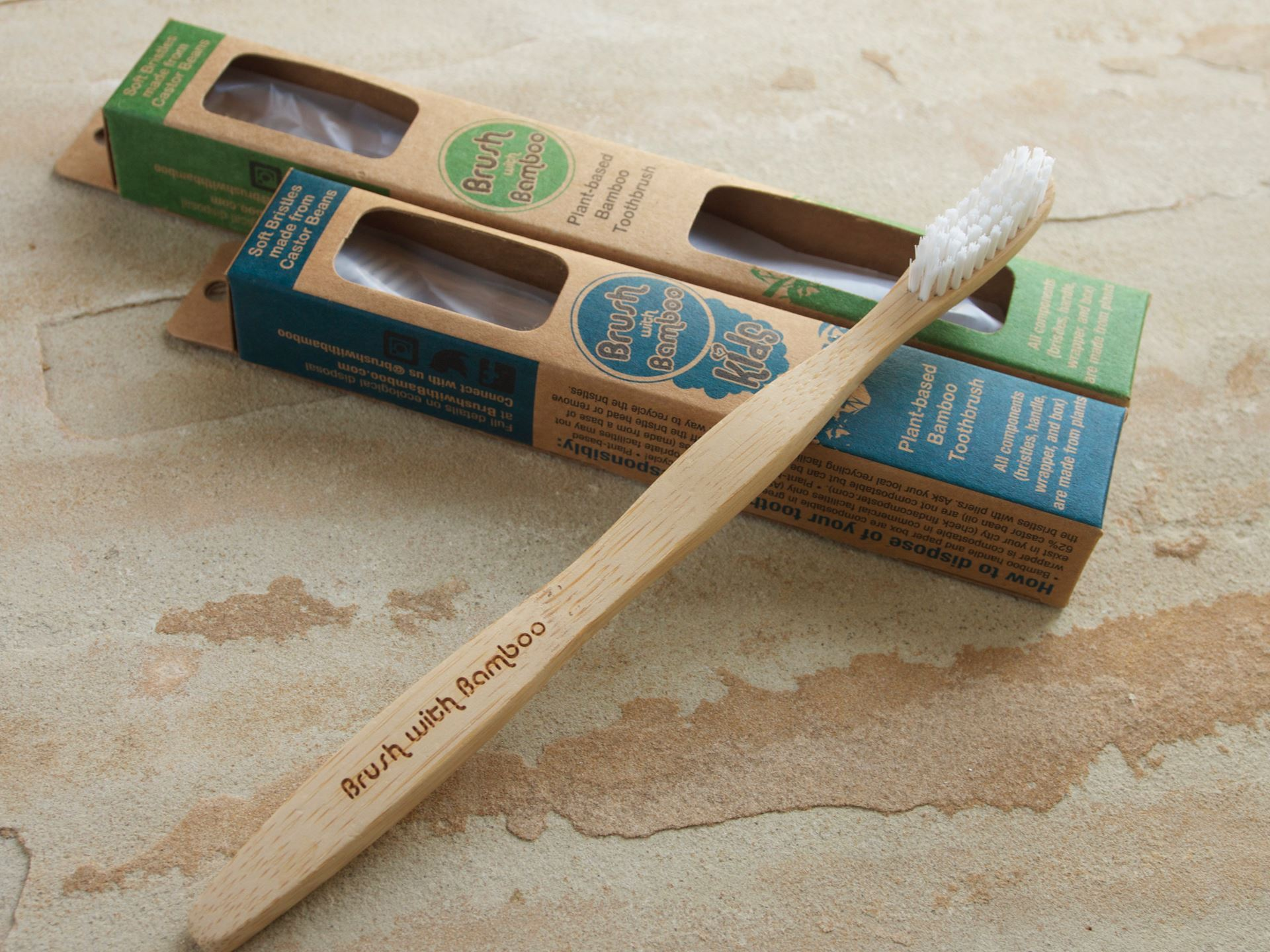 Picture of Brush with Bamboo Child Toothbrush