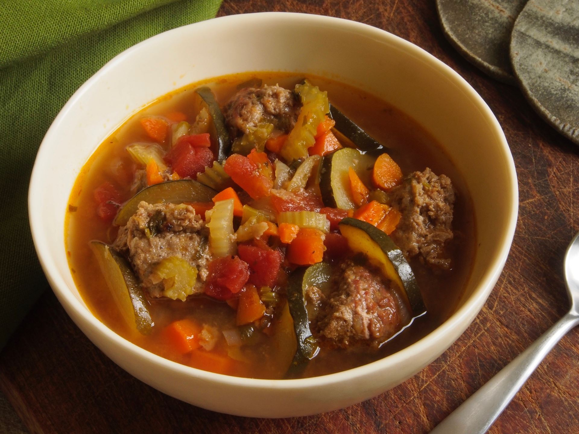 Picture of Frozen -- Mexican Meatball Soup (Albondigas) 22 oz