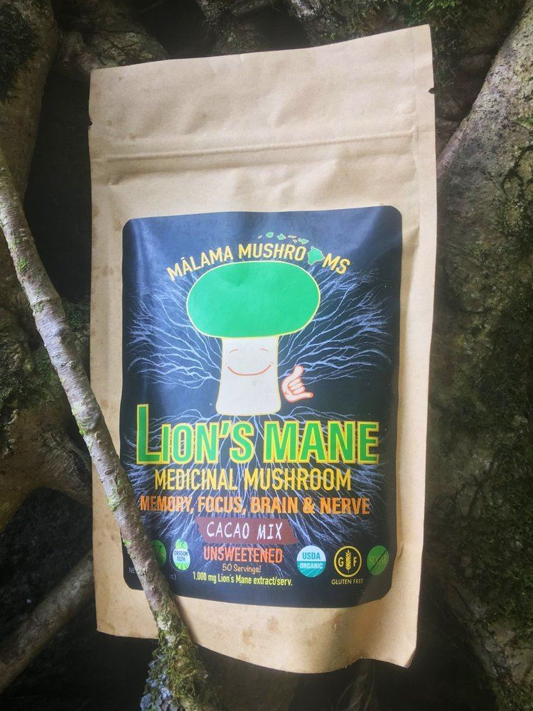 Picture of Malama Lion's Mane hot cacao drink mix