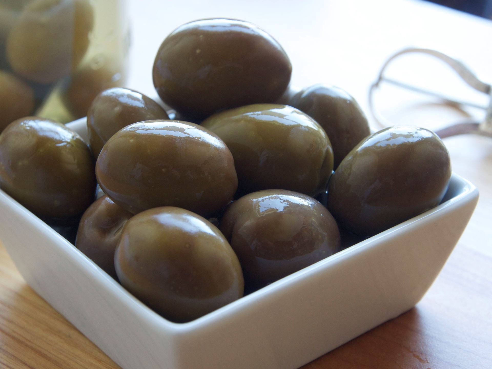 Picture of Good Faith Farm Raw Sevillano Olives