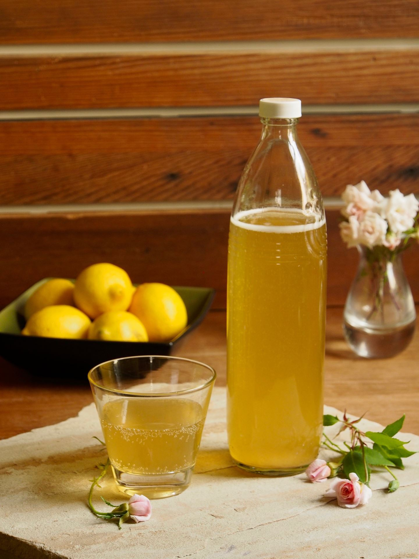 Picture of Meyer Lemon  Rose Kefir