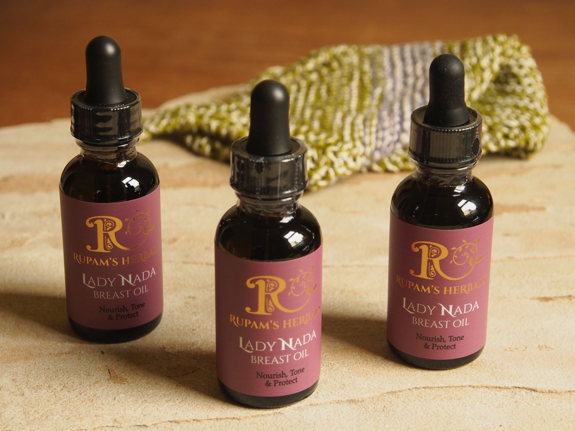 Picture of Rupam's Herbals Lady Nada's Breast Oil