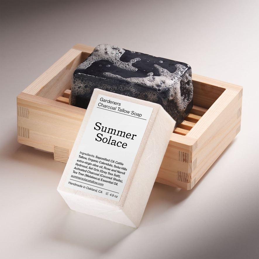 Picture of Summer Solace Tallow Soaps: Gardeners