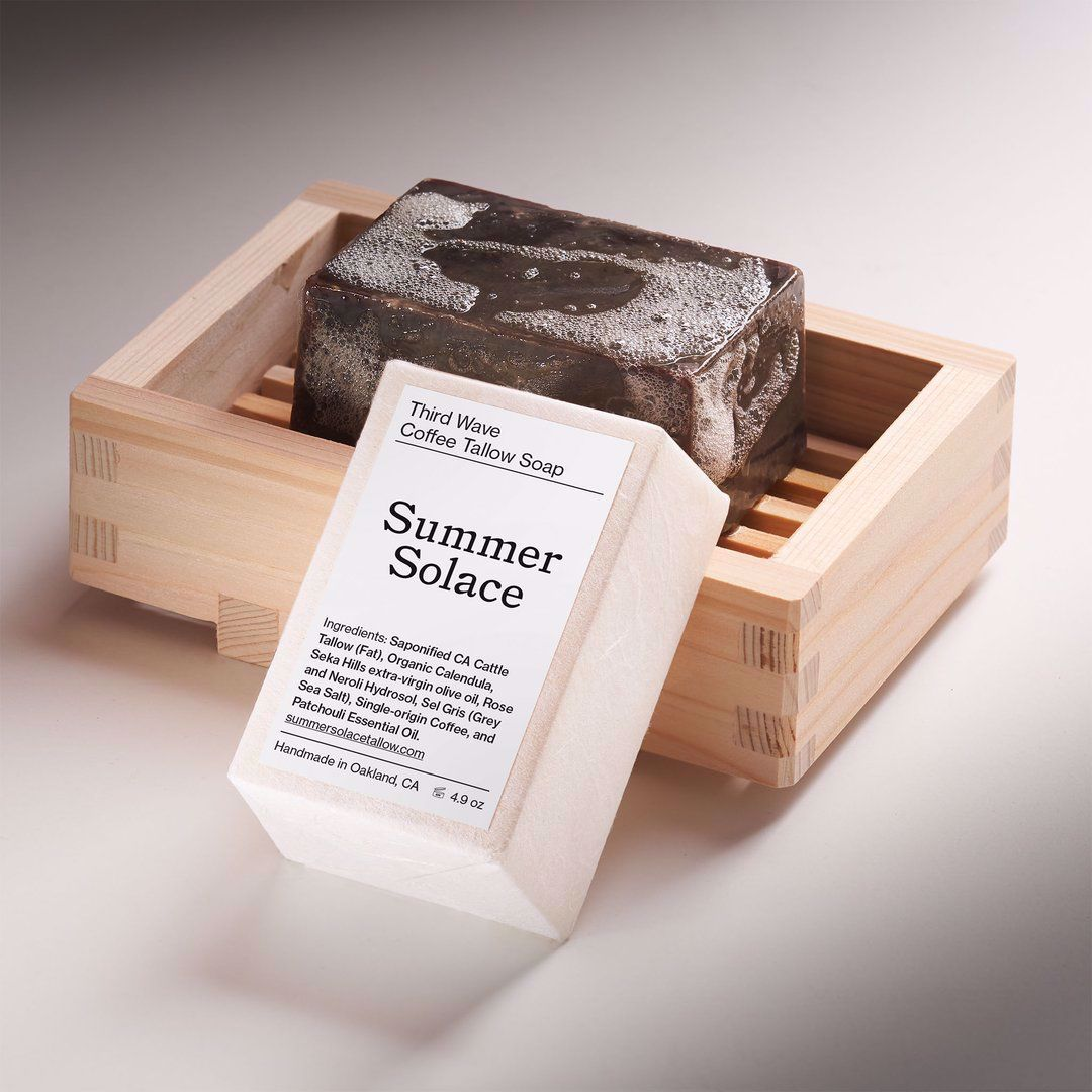 Picture of Summer Solace Third Wave Coffee Tallow Bar Soap